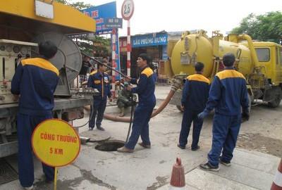 Nạo vét cống rãnh quận Hà Đông _ Cam Kết Sạch Sẽ 100% 0985.018.234