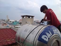 Thau rửa bể nước ăn tại tx Từ Sơn - giá chỉ từ 100k