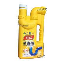 Hóa chất thông cống Sifa-999 Siêu Tốc - Dạng Nước 1,6L